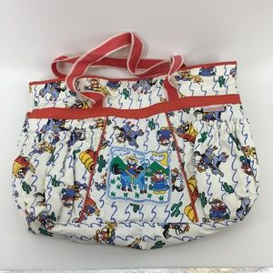 Vintage Cutie Pie Diaper Bag Changing Mat Included